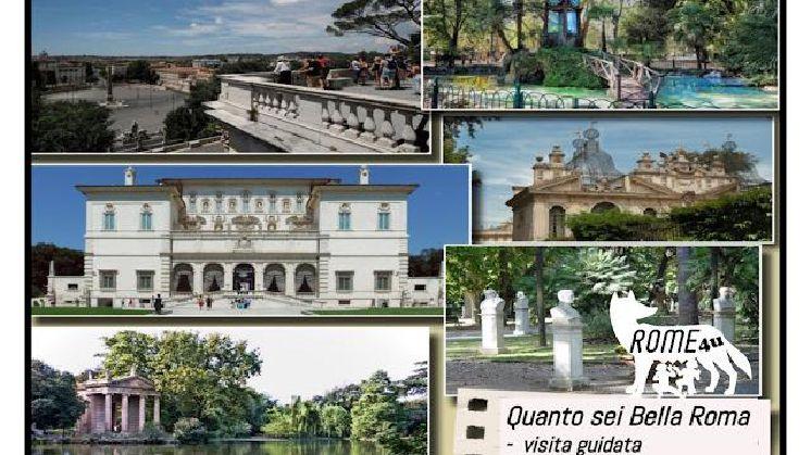 Quanto sei bella Roma - Soft trekking e visita guidata passeggiando dagli Horti di Cesare al giardino delle Meraviglie del Cardinal Scipione Borghese