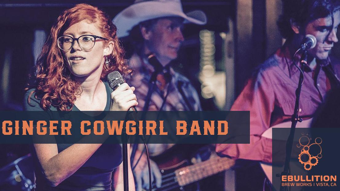 The Ginger Cowgirl Band – Straight Out Of Nashville