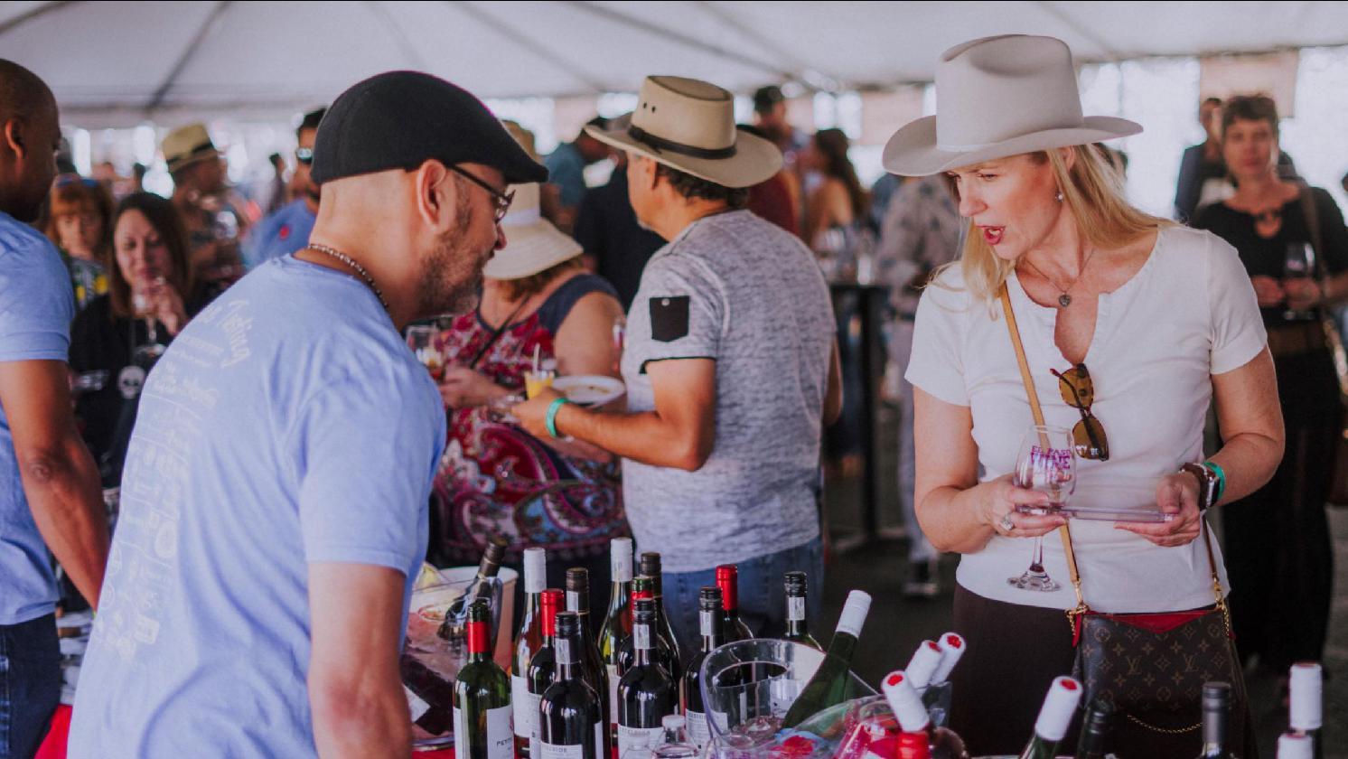 El Paso Winefest | 10/16/21 | Downtown El Paso | El Paso's Premier Wine & Food Festival