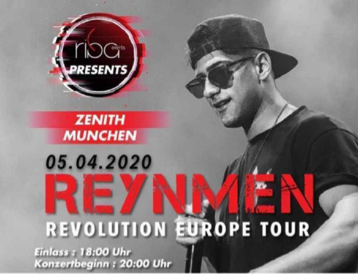 REYNMEN Revolution Europe Tour