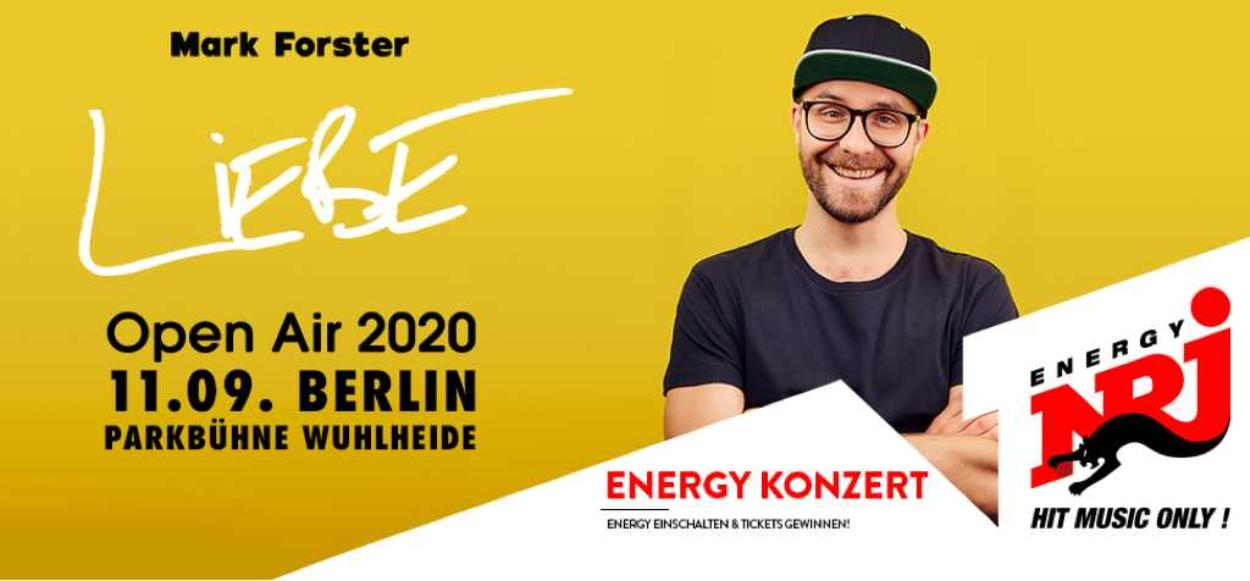 Mark Forster - LIEBE Open Air
