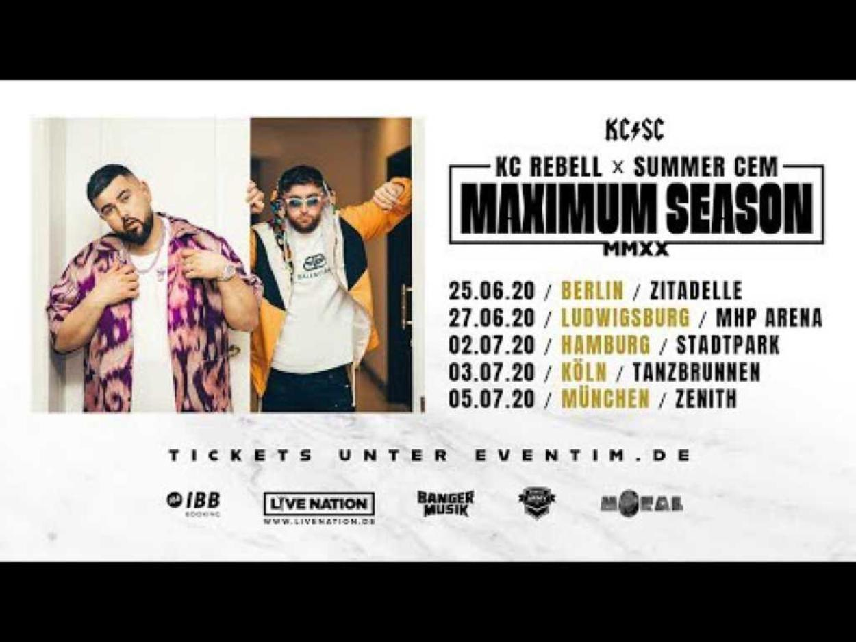 KC Rebell x Summer Cem • Maximum Season • Berlin