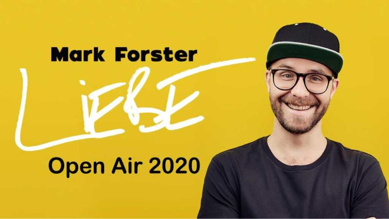 Mark Forster - LIEBE Open Air 2020 / Berlin
