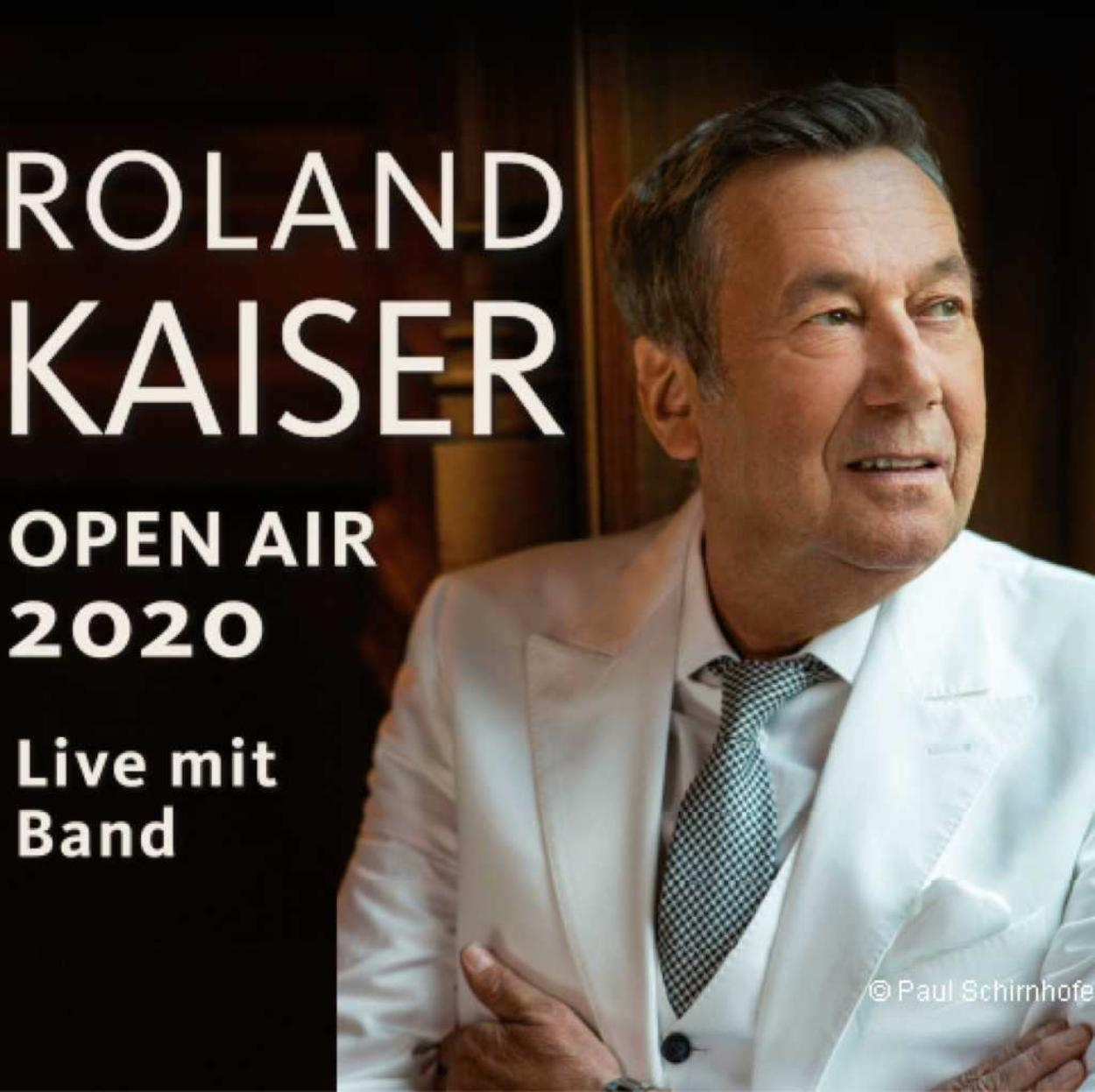 Roland Kaiser - Open Air 2020 Live mit Band | Berlin