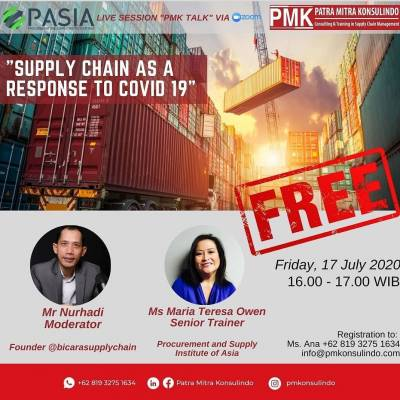 SUPPLY CHAIN AS A REPONSE TO COVID 19