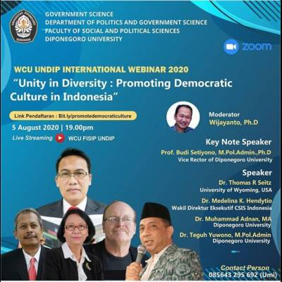Unity in Diversity: Promoting Democtaric Culture in Indonesia