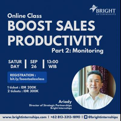 Sales 101: Boost Sales Productivity