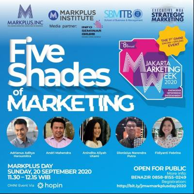 Five Shades of Marketing - Jakarta Marketing Week