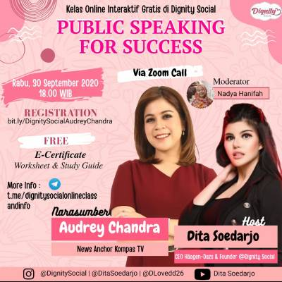 Dignity Social  Public Speaking for Success