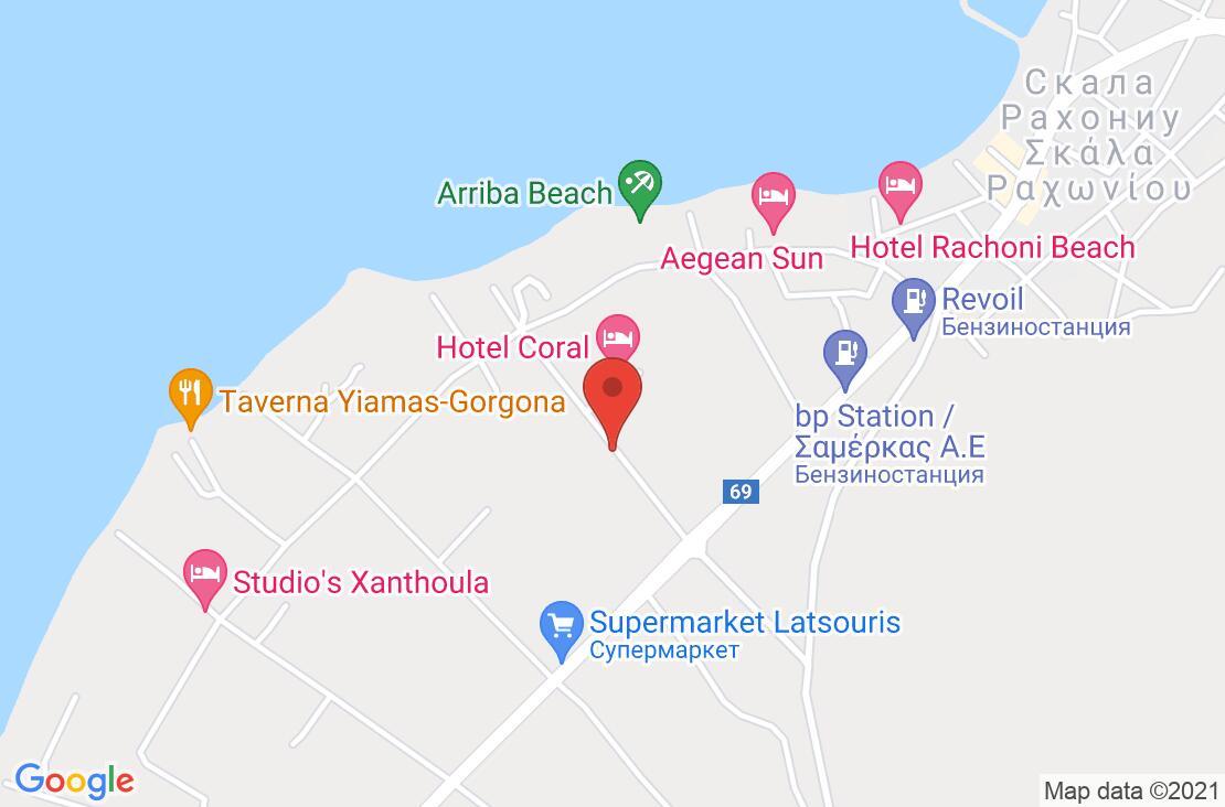 Разположение на Rachoni Bay -  Resort на картата