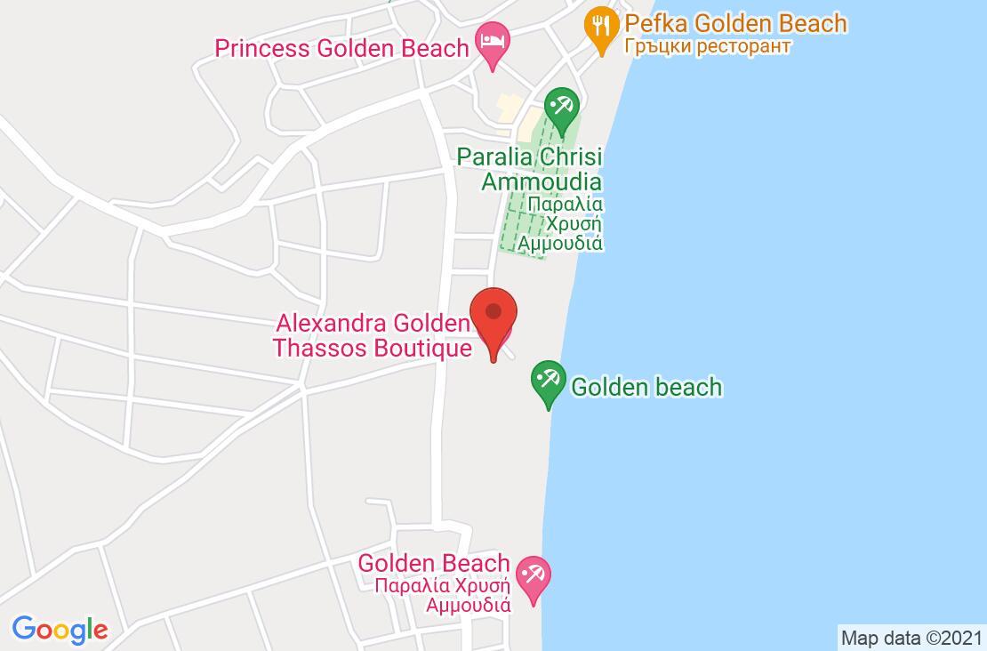 Разположение на Alexandra Golden Boutique  Hotel на картата