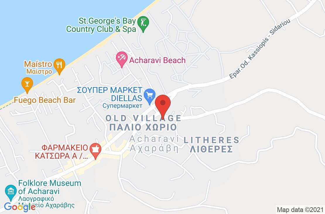 Разположение на Century Resort на картата