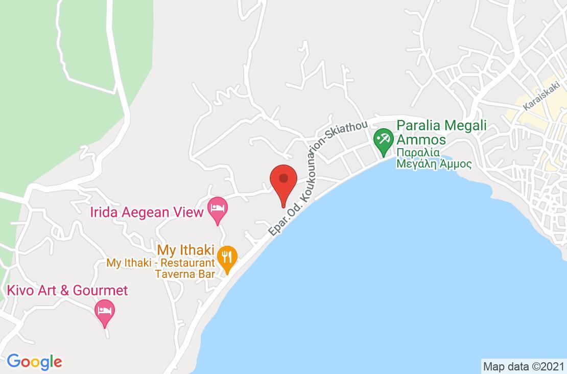 Разположение на Aegean Suites на картата