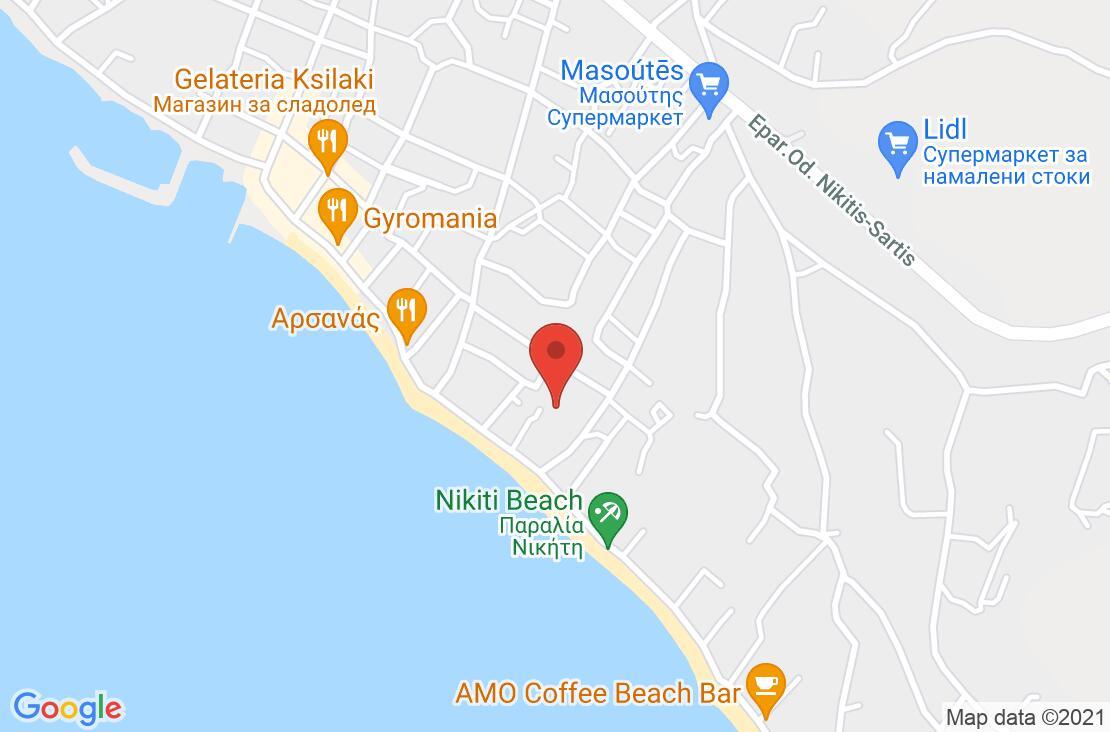 Разположение на Acrotel Lily Ann Village на картата