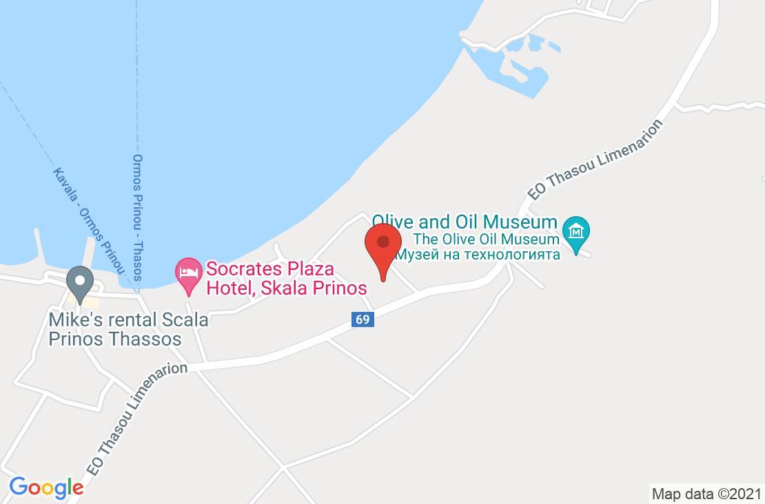 Разположение на Alea Hotel & Suites на картата