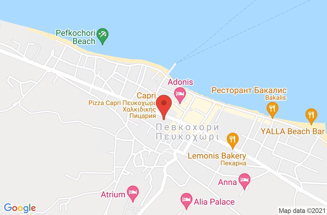 Разположение на Anna Maria Paradise на картата