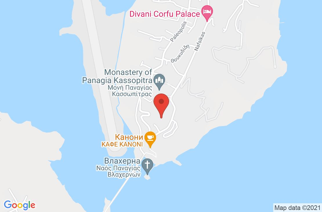 Разположение на Ariti Grand Hotel на картата