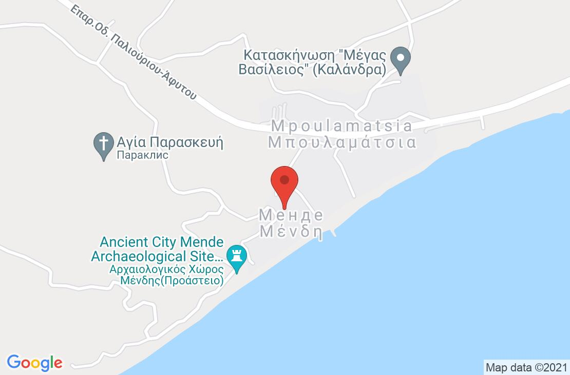 Разположение на Mendi Hotel на картата