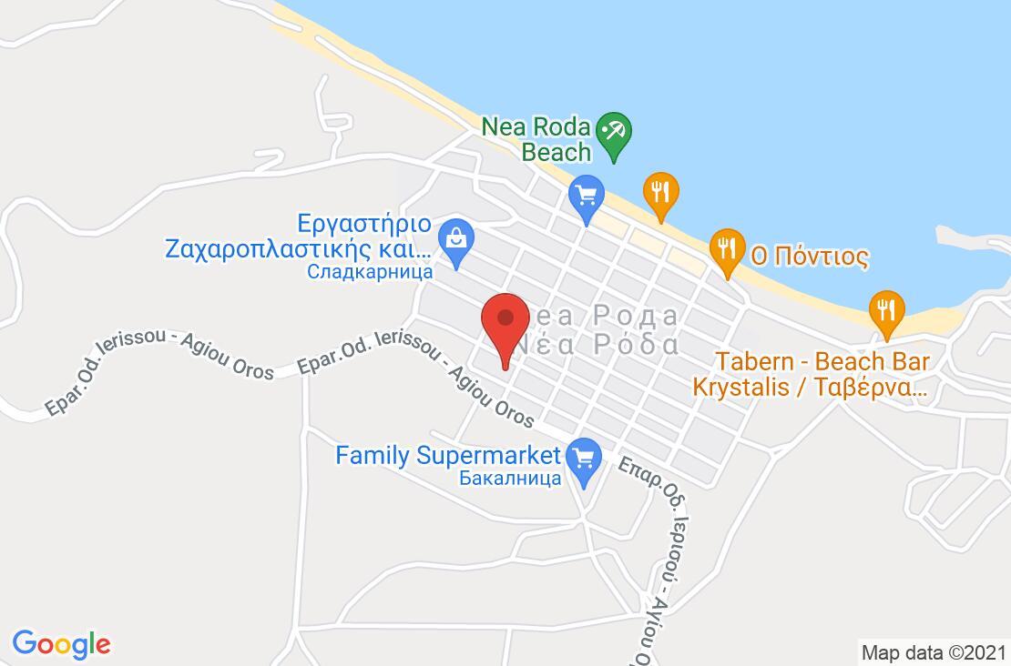 Разположение на Alexandra Hotel на картата