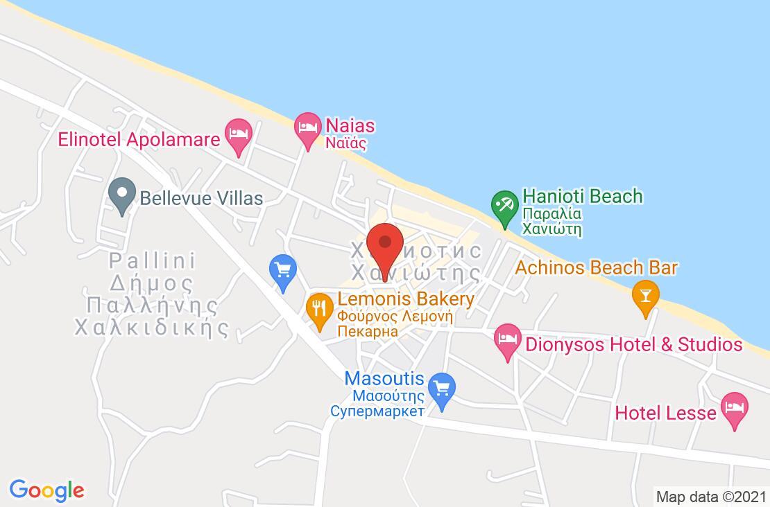 Разположение на Lesse Hotel на картата