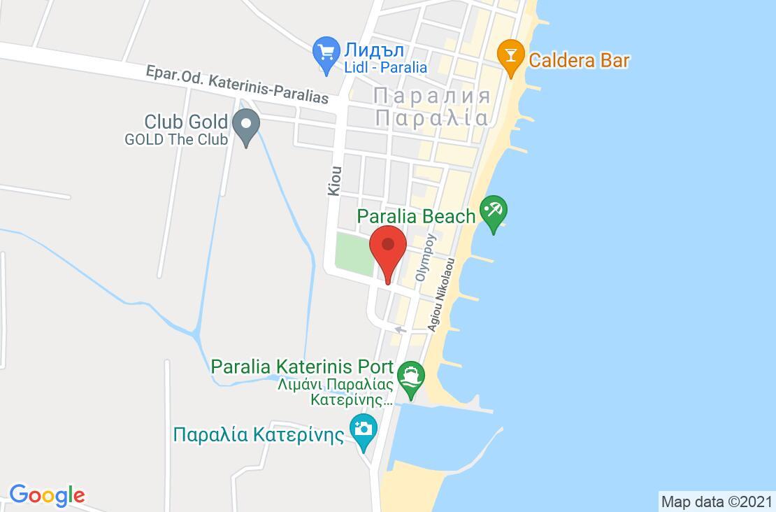 Разположение на Ioni Hotel на картата
