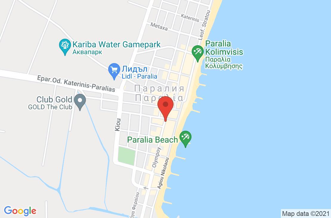 Разположение на Grand Platon Hotel на картата