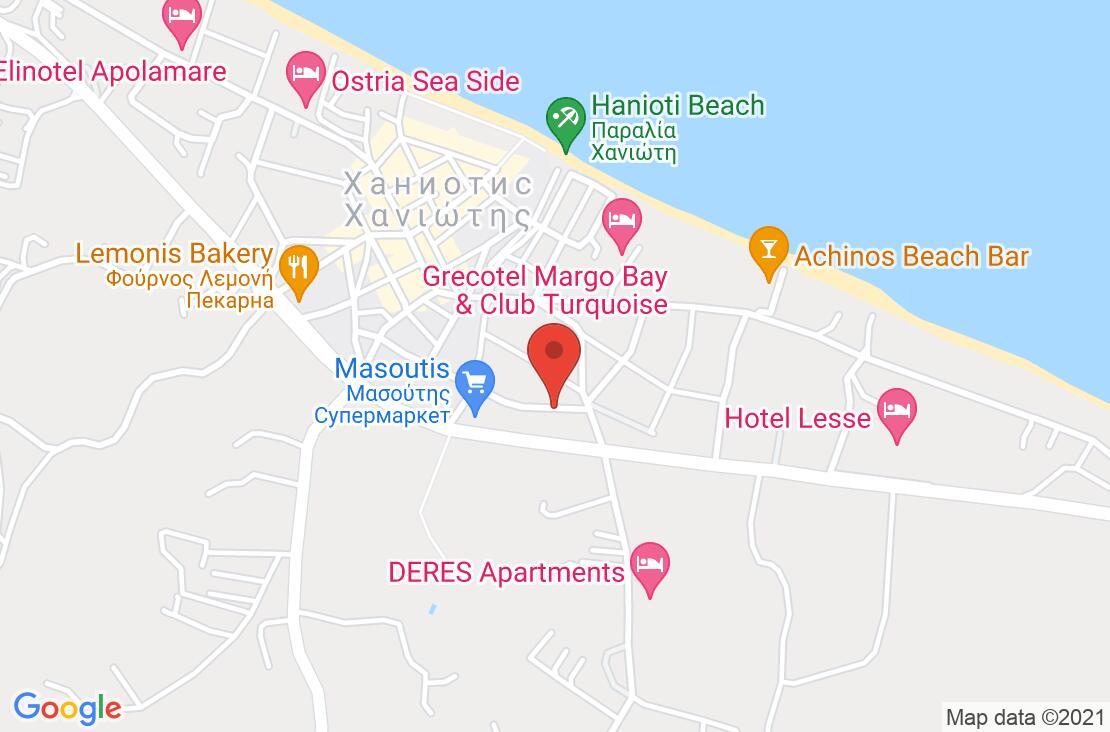 Разположение на Tropical Hotel - Chalkidiki на картата