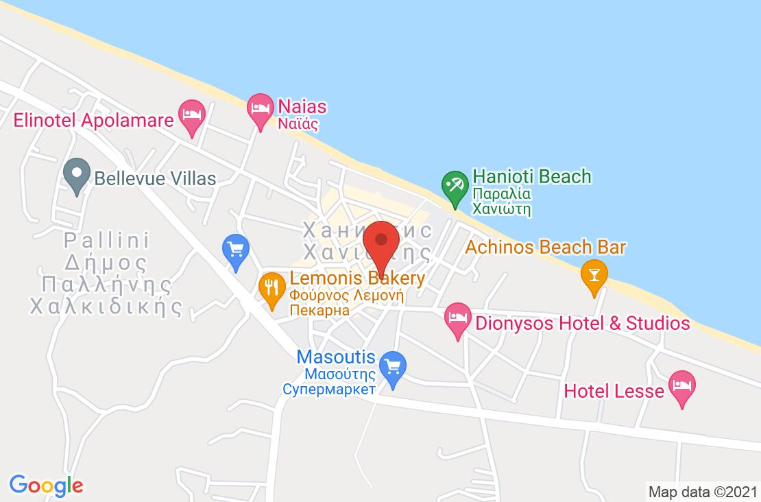 Разположение на Grecotel Margo Bay & Club Tirquoise (ex. Pella B.) на картата