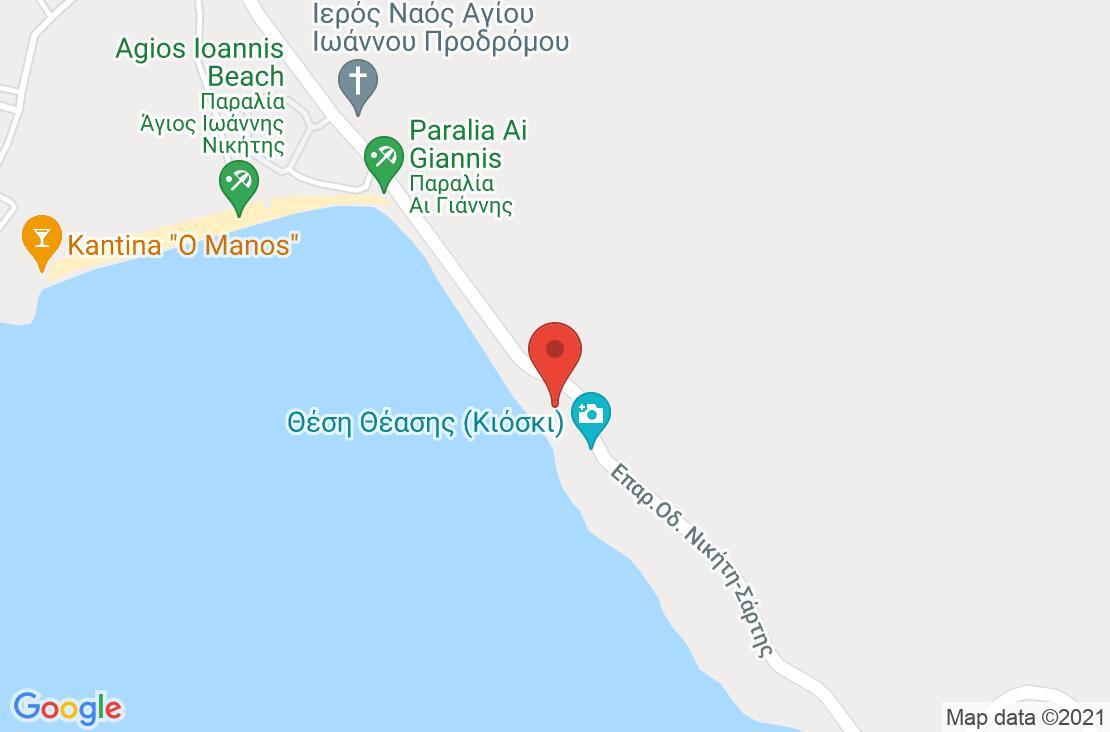 Разположение на Makednos на картата