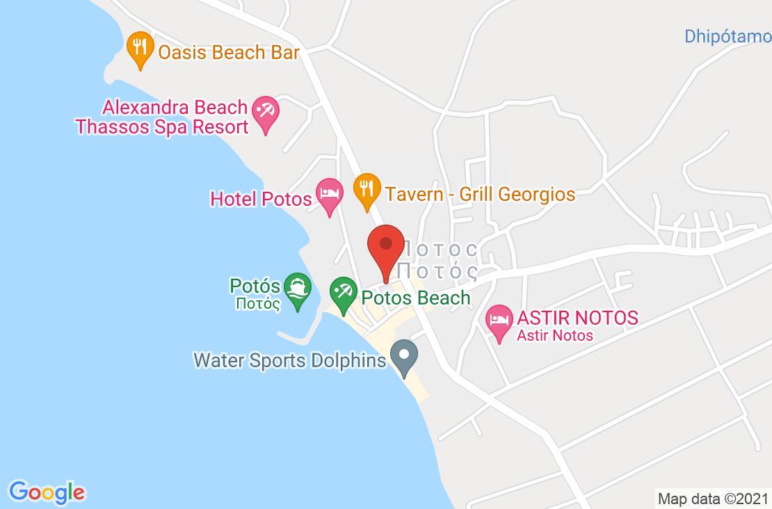 Разположение на Sirines Hotel на картата
