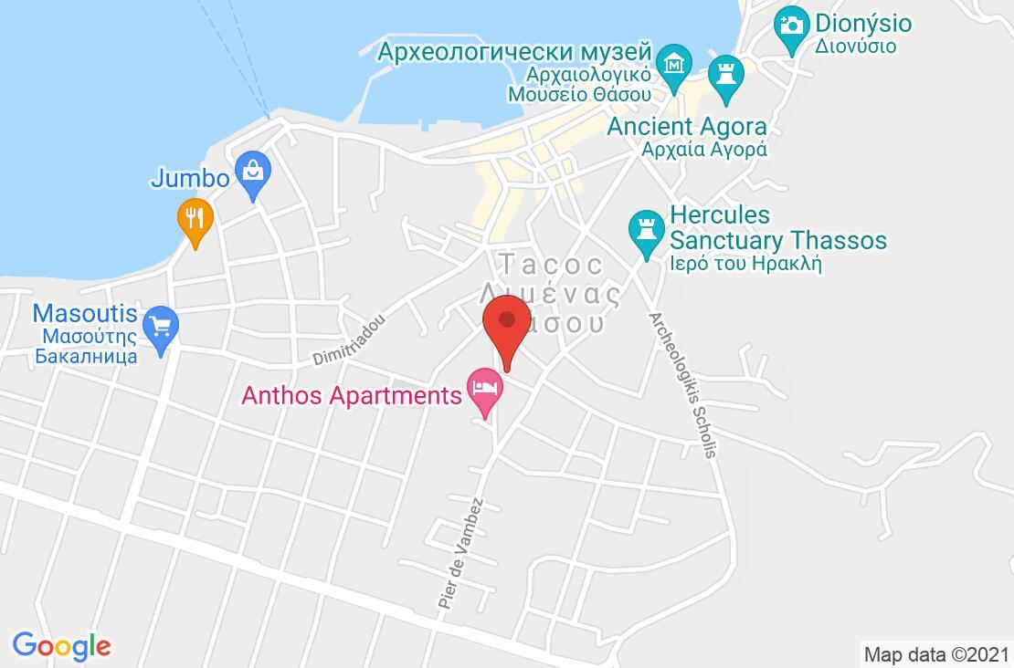 Разположение на Pavlidis Hotel на картата