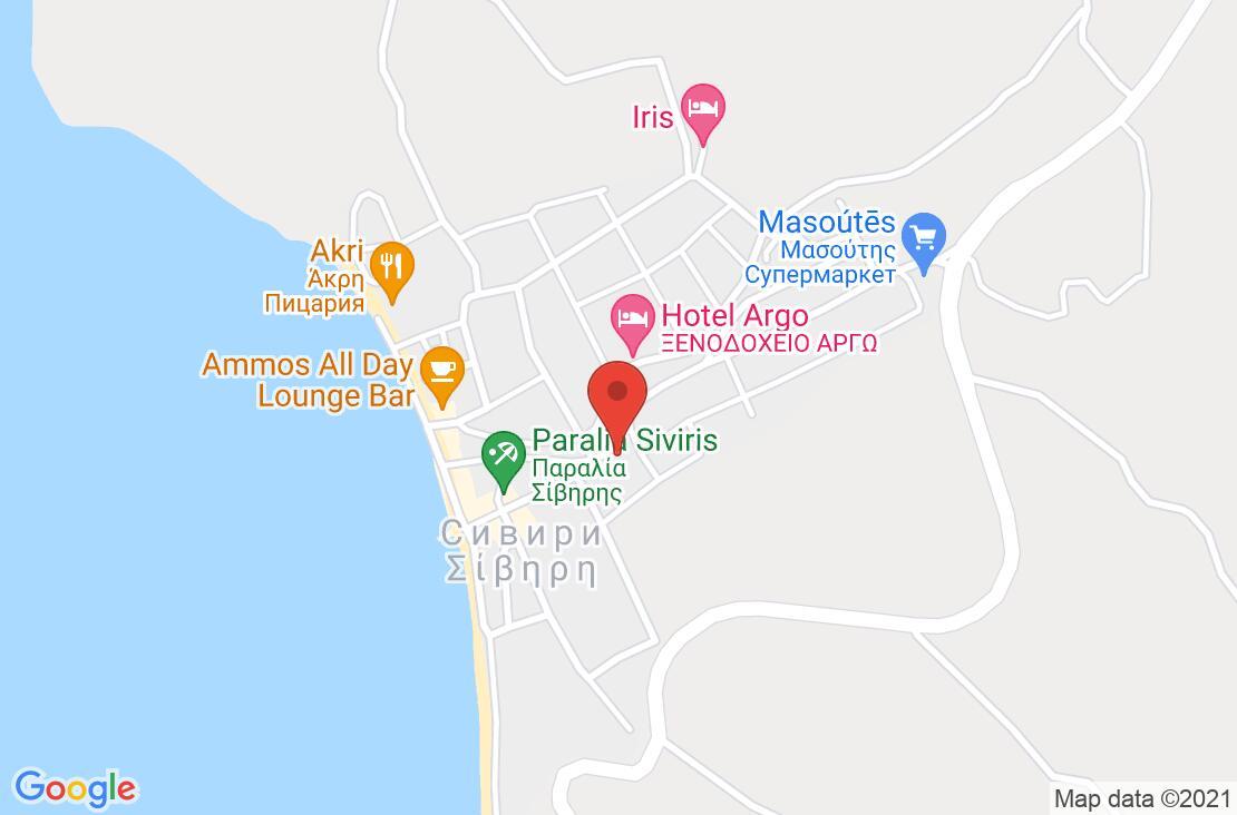 Разположение на Jenny Hotel на картата