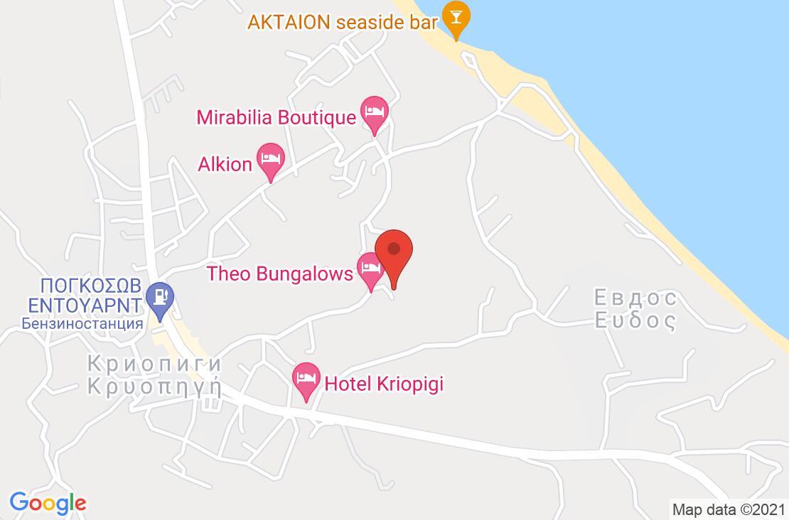 Разположение на Kassandra Bay Village на картата