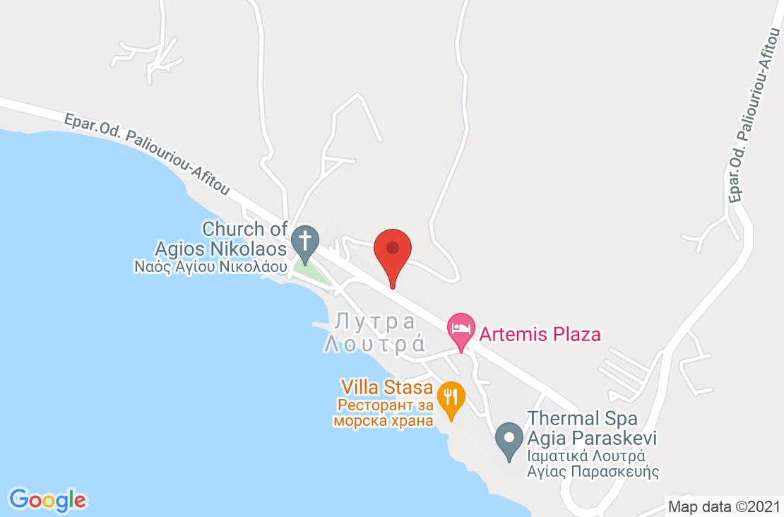 Разположение на Artemis Plaza на картата