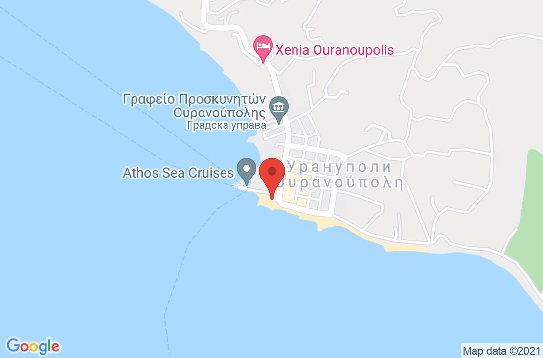 Разположение на Alexandros Palace Hotel & Suites на картата