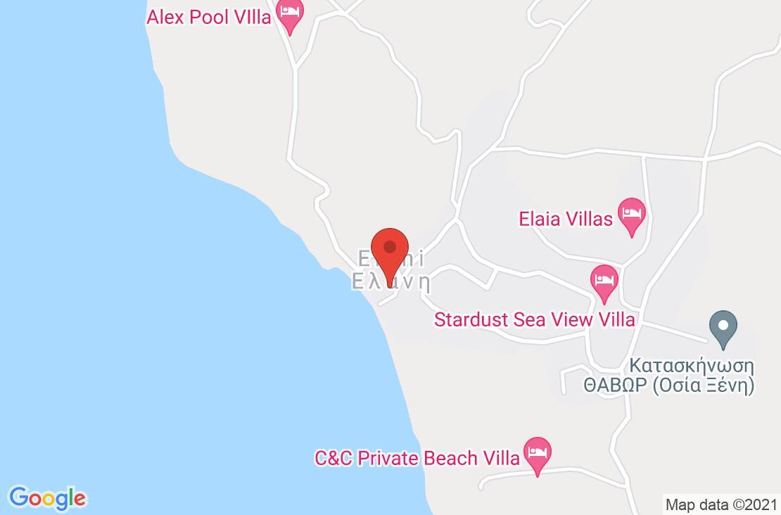 Разположение на Elani Bay Resort на картата