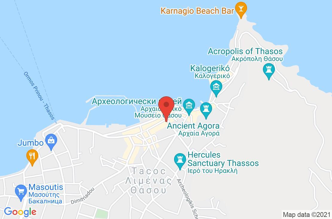 Разположение на A for Art Hotel на картата