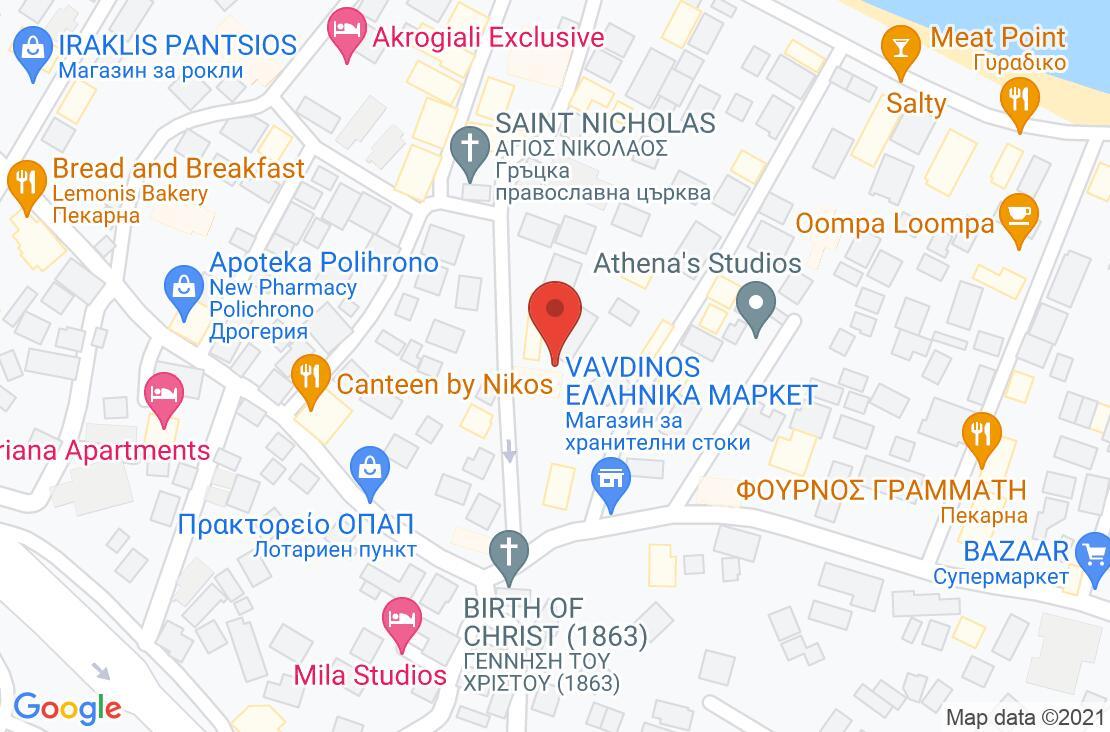Разположение на Core Hotels на картата