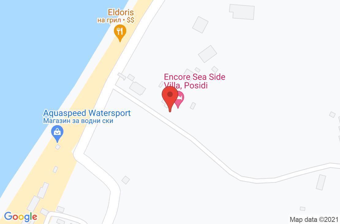 Разположение на Sunset Villas на картата