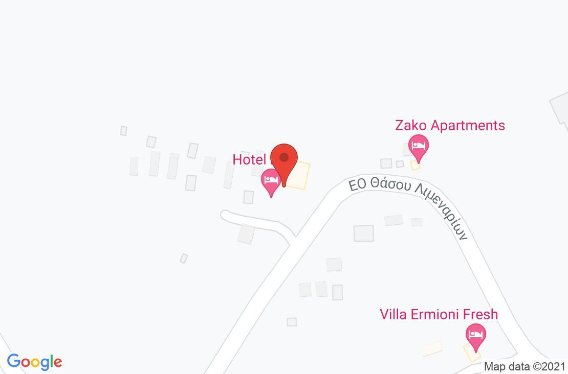 Разположение на Zoe Hotel (ex. Trypiti Hotel & Suites) на картата