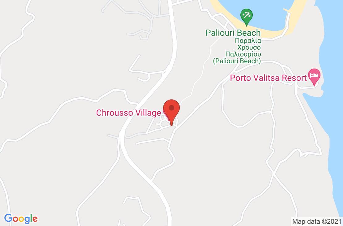 Разположение на Chrousso Village на картата