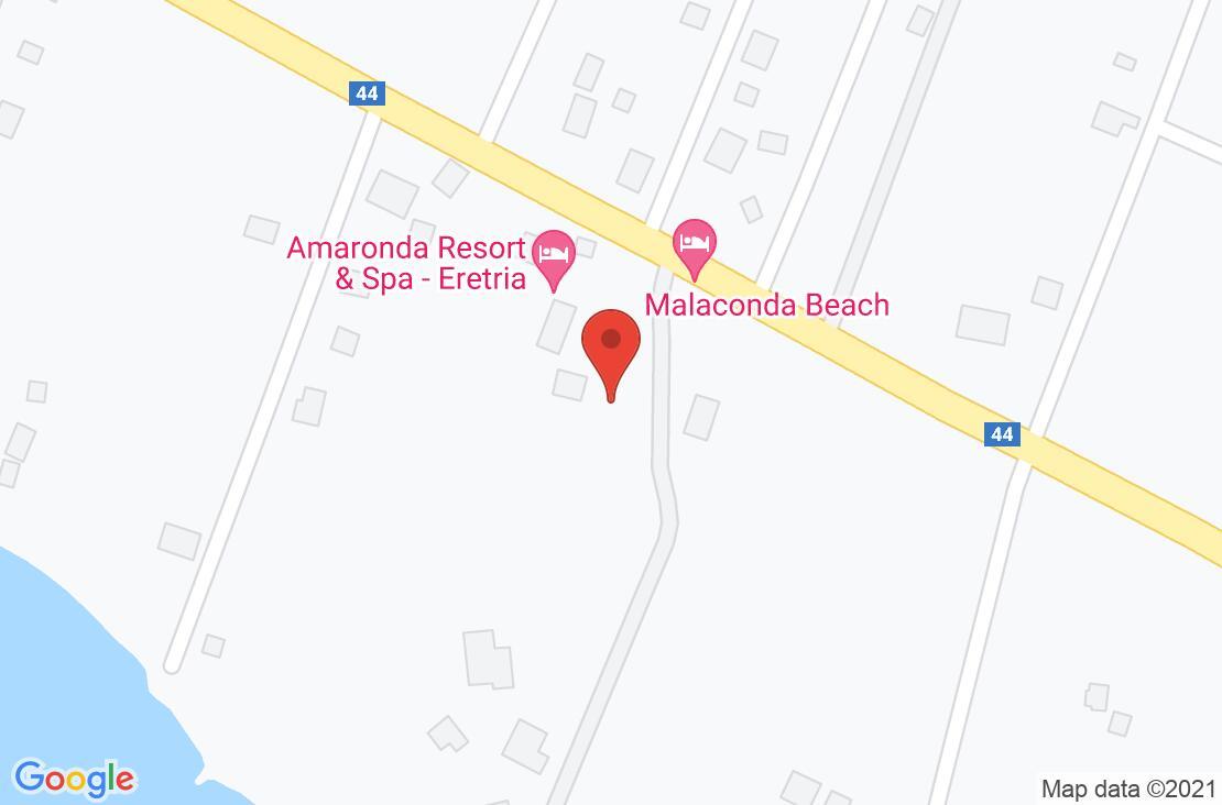 Разположение на Amaronda Resort & Spa на картата