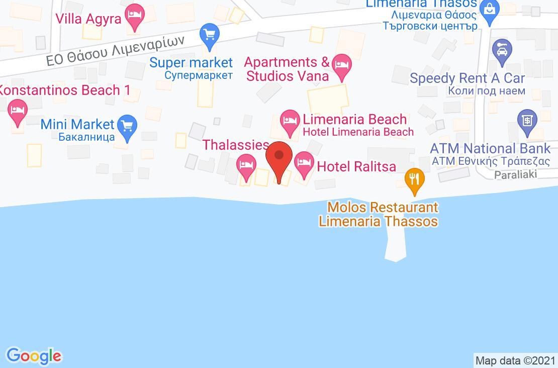 Разположение на Anna Beach на картата