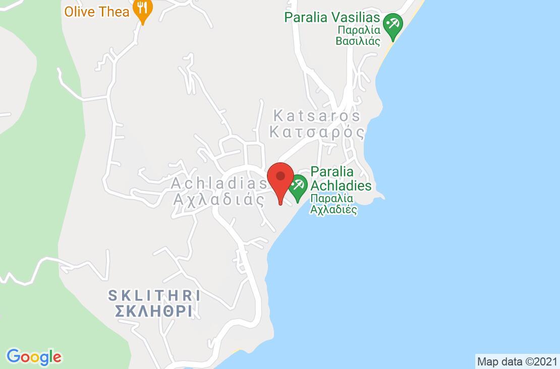 Разположение на Esperides Hotel - Skiathos на картата