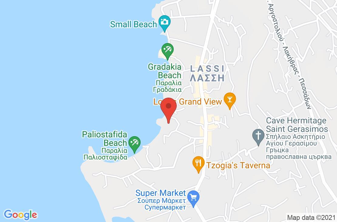 Разположение на Mediterranee Hotel - Kefalonia на картата