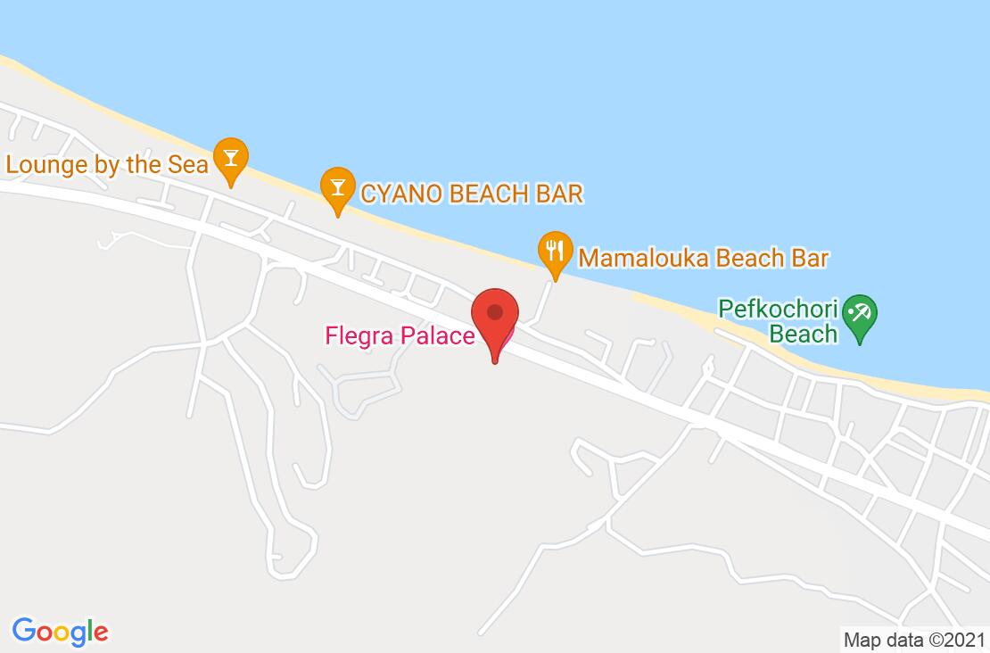 Разположение на Flegra Palace на картата