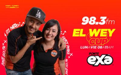 El Wey Cup con Vicky Perez y DJ Nitro