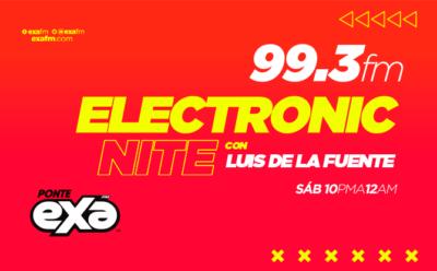 Electronic nite con Luis de la Fuente