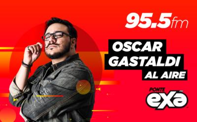 Oscar Gastaldi al aire
