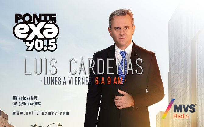 Noticias MVS con Luis Cárdenas